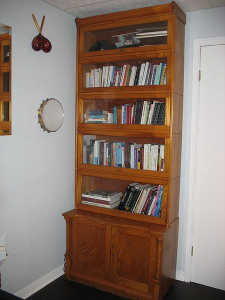 plywood bookcase plans