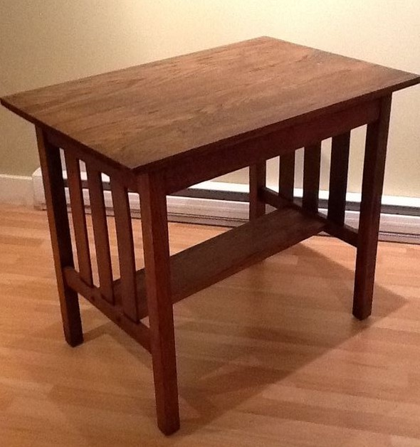shaker end table plans