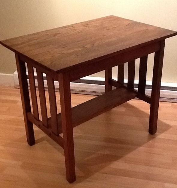 Mission Oak End Table Plans