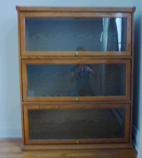 Barrister s bookcase hardware plans free download windy60soj for Meuble antique kijiji