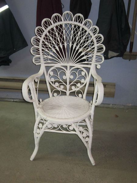 Small Grey Accent Chair