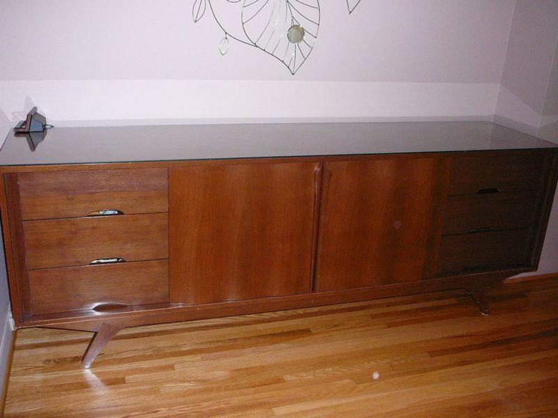 Retro Long Dresser. Batten Down   Vintage Furniture Finds at Kijiji Montreal