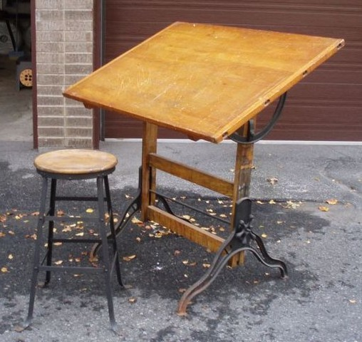 Plans To Build A Drawing Table