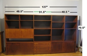 Teak.Shelf.Bookcase.Unit