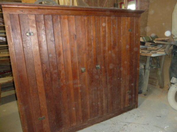 Facrac Reclaimed Wood Desk Montreal