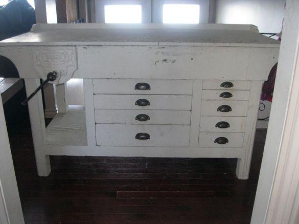 antique workbench craigslist