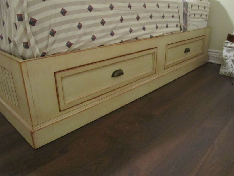 platform bed with drawers woodworking plans