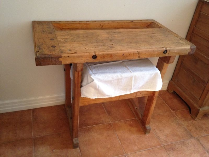 Buy Butcher Block Table Top: Vintage Furniture Montreal