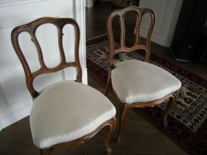 Pair.Accent.Chairs.Napoleon.III