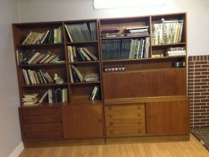 Teak.Wall.Unit.Bookshelves