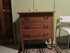 Three.Drawer.Oak.Chest