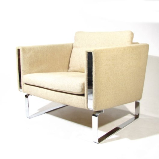 Wegner.Flatbar.Chrome.Chair