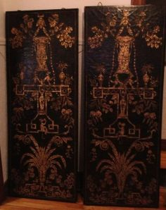 Gilt.Foliage.Decorative.Screens.Panels
