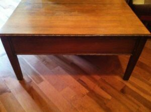 Vintage furniture montreal digs page 6 for Pine coffee table with storage