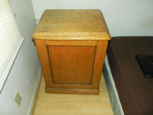 Antique.Sewing.Cabinet.Nightstand