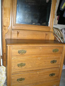 Eastlake.Mirrored.Dresser.Antique