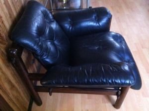Rosewood.1970s.Leather.Lounge.Chair