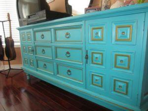 Turquoise.Dresser