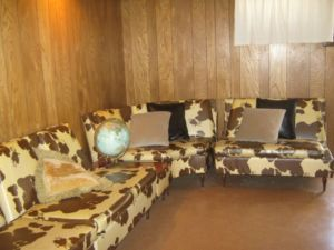Cowhide.Retro.Sofa