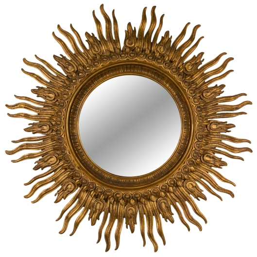 Gilt.Sunburst.Mirror