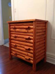 Log.Dresser.Chest.Drawers