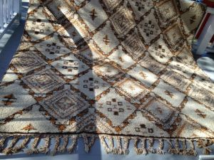 Moroccan.Wool.Tribal.Rug