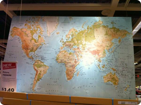 Ikea world map large world map canvas ikea 100 italy world map map of the world ikea gumiabroncs Choice Image