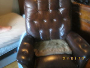 Lazyboy.Recliner.Brown.Leather