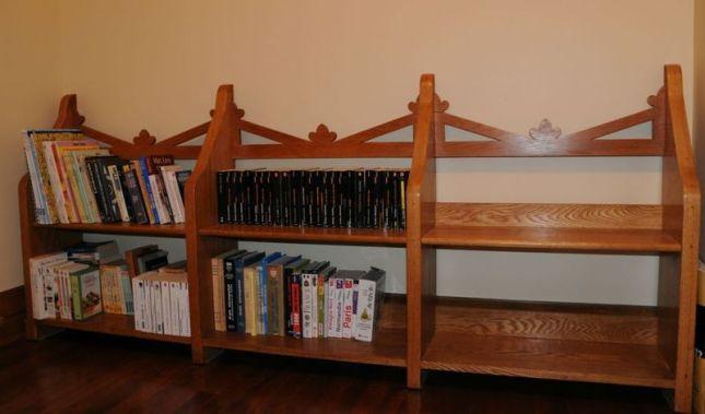 gothic bookcase plans