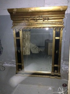 Empire.Black.Gilt.Mirror