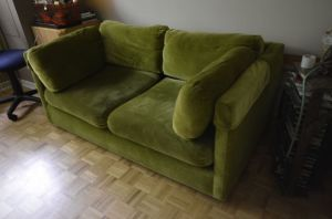 Green.Loveseat