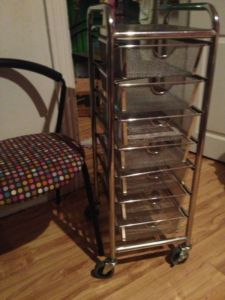 Stainless.Rolling.Shelving.Storage.Carts