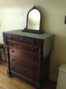 Vintage.Wood.Dresser