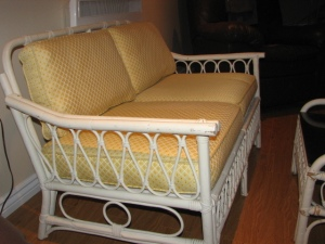 Wicker.Rattan.Sofa.Yellow.White