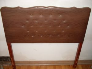 Wood.Vinyl.Twin.Single.Headboard