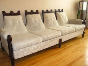 1970s.Carved.Sofa.Set