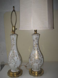 Chinoiserie.Lamps