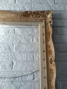 Floral.Wood.Carved.Frame