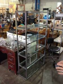 Stainless.Steel.Glass.Etagere