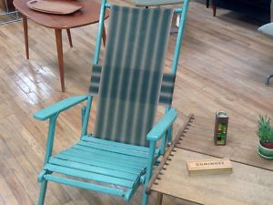 Vintage.Folding.Deck.Lawn.Chair.Patio