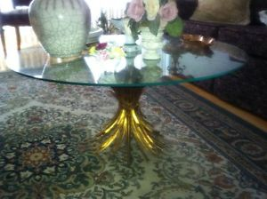 Tole.Italy.Wheat.Sheaf.Table