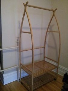 Bamboo.Clothes.Rack