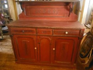 Eastlake.Sideboard.Red.Ash